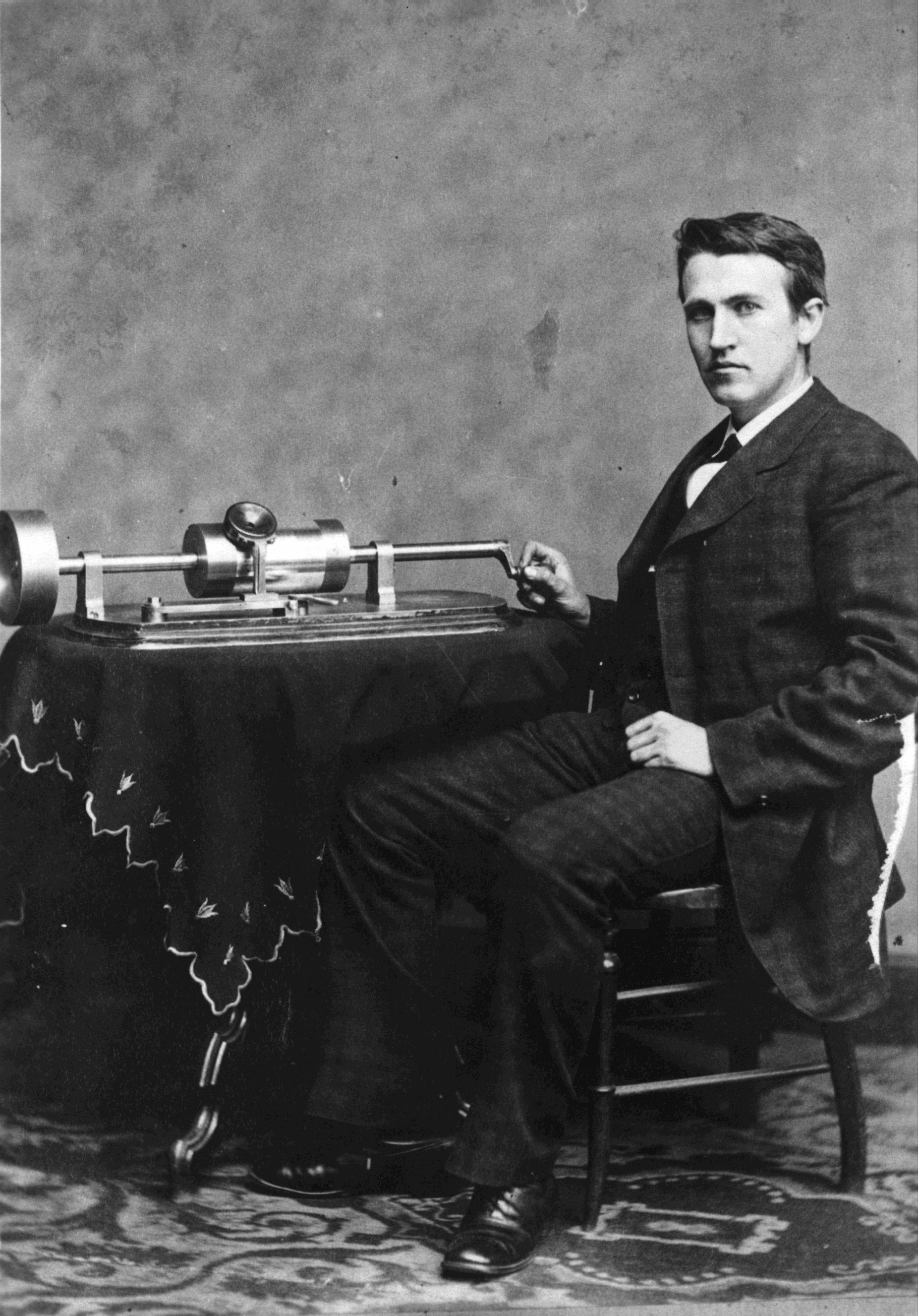 Thomas Edison Talking Book
