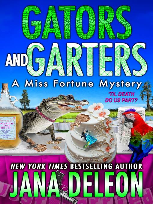 """Cover for """"Gators and Garters: A Miss Fortune Mystery"""""""