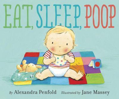 "Cover for ""Eat, Sleep, Poop"""